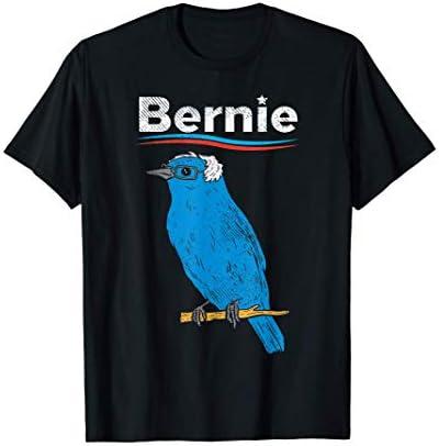 Bernie Sanders Blue Bird Glasses Wig 2020 Election President T Shirt product image