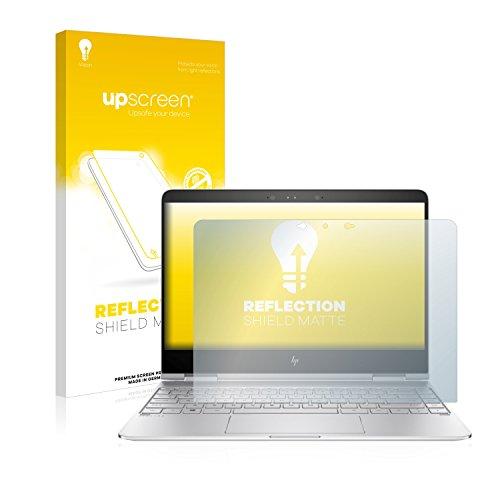upscreen Entspiegelungs-Schutzfolie kompatibel mit HP Spectre x360 13-ac033ng – Anti-Reflex Bildschirmschutz-Folie Matt