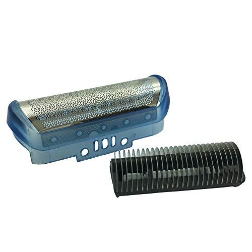 Lama di ricambio per rasoio elettrico per rasoio da uomo e lama per taglierina compatibile con la serie Braun (20S