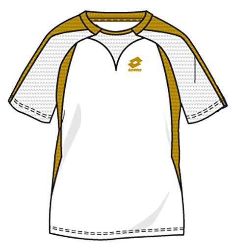 Lotto T-Shirt Magma RGL, Blanc/Or XXL wei�/Gold