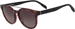 Karl Lagerfeld Unisex Round Red Plastic Sunglasses - KL959S 131 54-19-140mm, Size