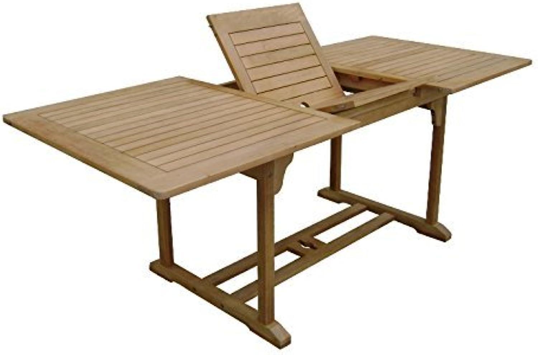 Sedex Dundee Gartentisch 150-200x90cm Tisch mit Auszugfunktion Holztisch Eukalyptus