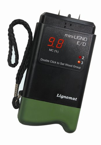 Lignomat Mini Ligno E/D Best Wood Moisture Meter For Woodworking