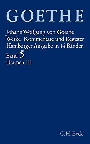 Goethe. Werke: Werke, 14 Bde. (Hamburger Ausg.), Bd.5, Dramatische Dichtungen: Iphigenie auf Tauris. Nausikaa. Torquato Tasso. Die Aufgeregten. Die ... Elpenor. Pandora. Des Epimenides Erwachen
