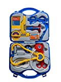 Priya Impex Doctor Plastic Playset Kit with Fold able Suitcase, Compact Medical Accessories Toy Set Pretend Play Kids(Color May Vary)