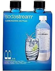 Sodastream 7290012291715 flaska polyeten, 2 x 1L, svart