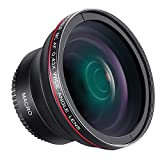 Neewer 58 mm 0, 43 X HD Objectif Grand Angle avec Macro Close-up Portion Objectif pour Canon EOS Rebel 700d 650d 600d...