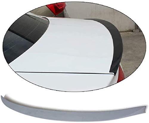 JYCX Adecuado para Audi A4 B8 Non-Sline 2009-2013 PU Sin Pintar Primer Alerón Trasero ala