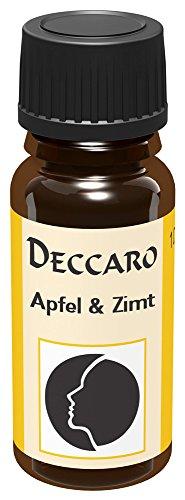 DECCARO Aroma Oil Manzana y Canela, 10 ml (Aceite de Perfume)