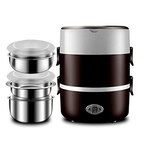 DHTOMC Cocina de arroz (1.2L / 200W / 220V) Características térmicas, Tres Olas Multiusos con Forro de Acero Inoxidable de Calidad Antiadherente Xping (Color : Natural)