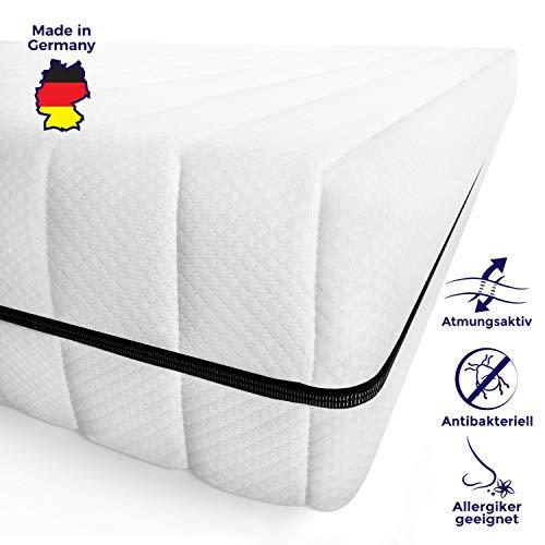 Mister Sandman schadstofffreie 7-Zonen-Matratze für gesunden Schlaf – Kaltschaummatratze mit Liegezonen und pflegeleichtem Matratzenbezug, H2 H3, 15cm Höhe (140 x 190 cm)