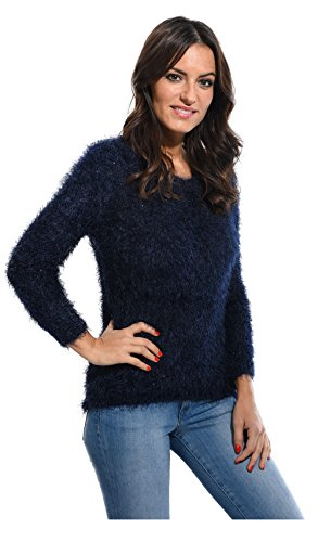 Cbk 660141 Pull Femme, Marine, FR (Taille Fabricant : XL)