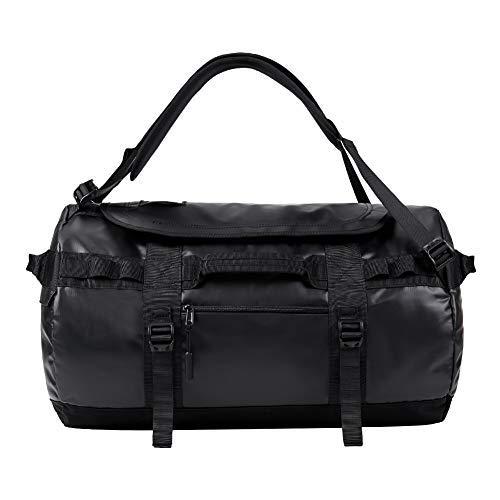KALIDI Reisetasche Transporttasche Duffle Bag Rucksack wasserfeste Sporttasche 50L/70L/100L (Schwarz, 90L)
