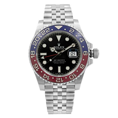 Rolex GMT-Master II'Pepsi' Men's Luxury Watch 126710BLRO