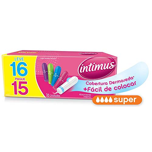 Intimus Absorvente Interno Super, 16 unidades