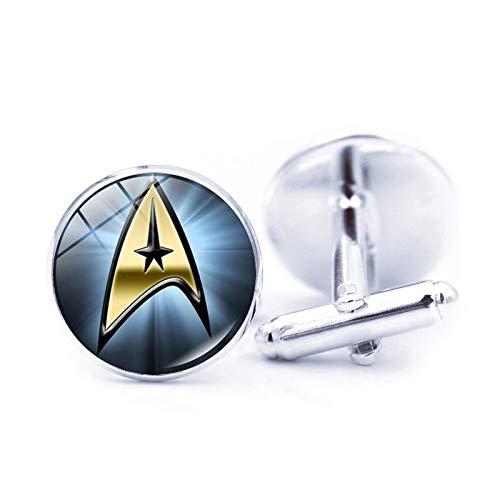 Bosi General Merchandise Star Trek, Gemas del Tiempo, Gemelos de Camisa, Clavos de Metal, Regalos creativos