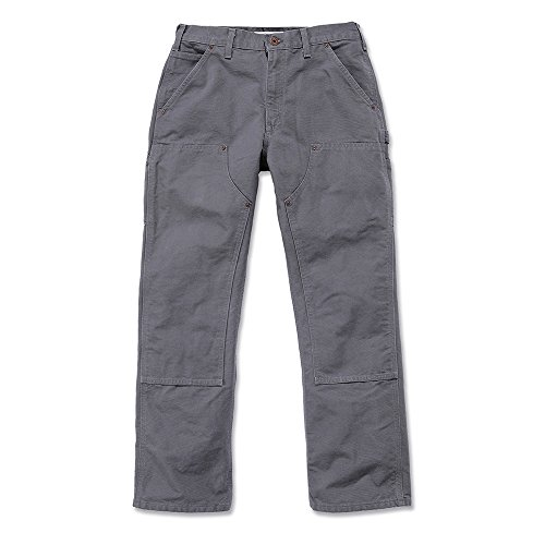 Carhartt Workwear broek Washed Duck Work Dungaree EB136 werkbroek W33/L30 grijs