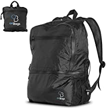 AirBags 25L Ultra Lightweight Packable Backpack for Travel Hiking and Gym – Water Resistant Foldable Daypack Bag
