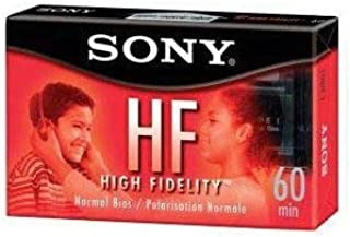 LOT of 3 SONY HF 60 Minute Blank Audio Cassette Tapes High Fidelity C-60HFL