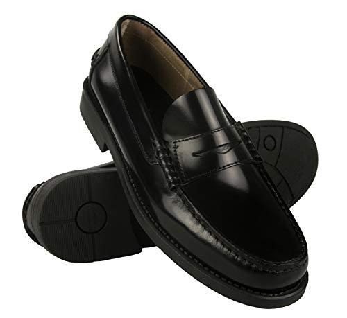 Zerimar Zapatos Castellanos Hombre | Mocasin Antifaz Hombre | Mocasin con Borlas para Hombre | Zapatos de Vestir Hombre Fabricados en España