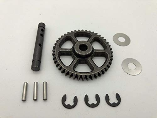 CrazyRacer Idler Gear 44T Central Differential Gear with Shaft for HPI RC Savage Flux HP 100905