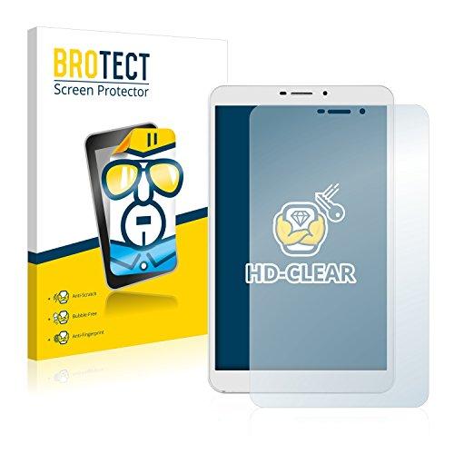 BROTECT Schutzfolie kompatibel mit Kiano SlimTab 8 3G (2 Stück) klare Bildschirmschutz-Folie