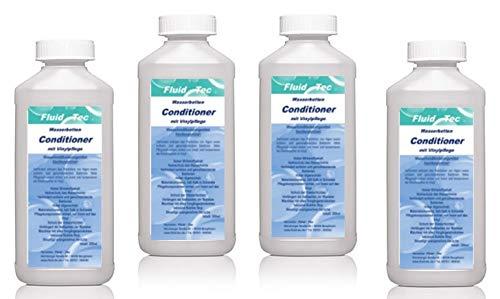 Fluid-Tec 4 x 250ml Wasserbett Conditioner Konditionierer für Wasserbetten Aller Hersteller