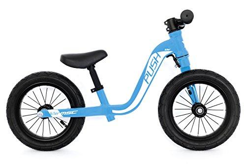 MSC Bikes 18KIDPUSHBL12 Bicicleta Push Bike T-12 Blue, Bebés Unisex, Azul, 12