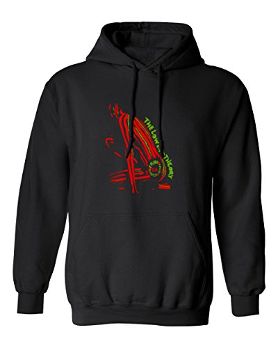 RIVABELLA Premium Tee The Low End Theory Novelty Youth Hoodie Hooded Sweatshirt Black