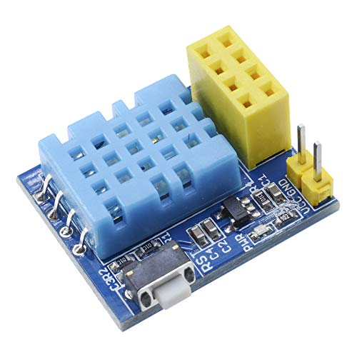 ESP8266 ESP-01S DHT11 Temperatur Luftfeuchtigkeit Sensor Modul Wireless WiFi nodemcu Smart Home IOT für Arduino DIY Kit (Ohne ESP-01S)