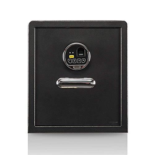 Accessoires pour la maison Master Lock Coffre-fort anti-feu Coffre-fort d'empreintes digitales Document de bureau à domicile Serrure électronique Boîte de sécurité Hôtel en acier massif Business Sm