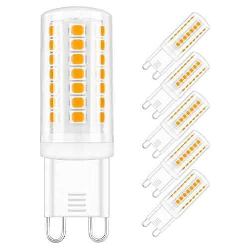 G9 LED Dimmbar Lampe 3W, Ersatz 25W 28W 33W 40W Halogenlampe, 4000K Neutralweiß Glühbirnen 230V 400 Lumens Leuchtmittel, 6er Pack