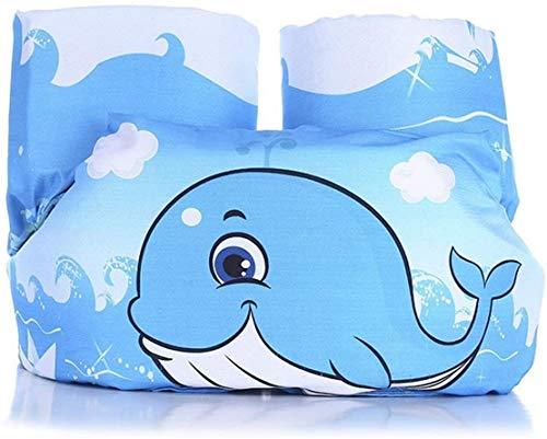 Niedlich Schwimmflügel für Kinder und Kleinkind von 2-7 Jahre 15-30kg,Schwimmhilfe Schwimmweste für Kinder Junge Mädchen,Verschiedene Cartoon-Tiermuster Schwimmflügel (J, Einheitsgröße)