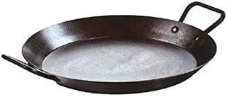 Lodge CRS15 Carbon Steel Skillet, Pre-Seasoned, 15-inch,Black
