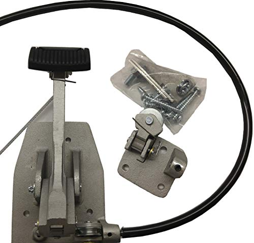 "Universal Dual ""Brake"" Set, Instructors Passenger Side Brake, School Student Drivers Ed Training Brake Pedal Set"