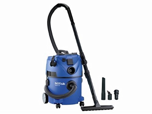 Nilfisk Multi ll 30T Wet and Dry Vacuum Cleaner – Indoor & Outdoor Cleaning – 22 Litre Capacity with 1400 W Input Power…