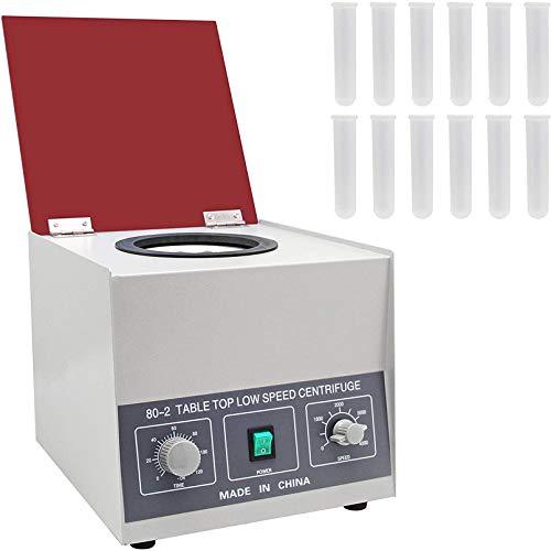 CGOLDENWALL Zentrifuge 4000U/min Zentrifugalmaschine 12x20ml Röhrchen-2325xg Zentrifugalkraft 0-120min zur Probentrennung&Qualitative Analyse inKrankenhäusern/Biologischen/Chemischen Labor