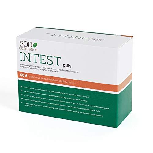 500Cosmetics Intest- Cápsulas Naturales para Prevenir y Evitar las Hemorroides - Mejora la Circulación y Combate el Estreñimiento - Para Hombre y Mujer.