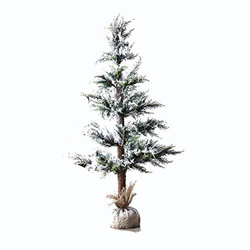 Sapin de Noël Arbre de Noël - Pulvérisation De Neige Tomber Neige Arbre De Noël Décoration Ornements Décoration De Fenêtre De Cèdre De Tournage Props Décoration De Noël (taille : 90x40cm)