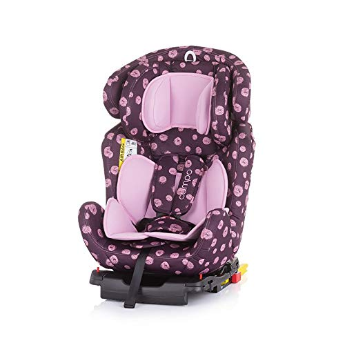 Chipolino Kindersitz Campo Gruppe 0+/1/2/3 (0-36 kg), Isofix, Top Tether, SPS, Farbe:rosa
