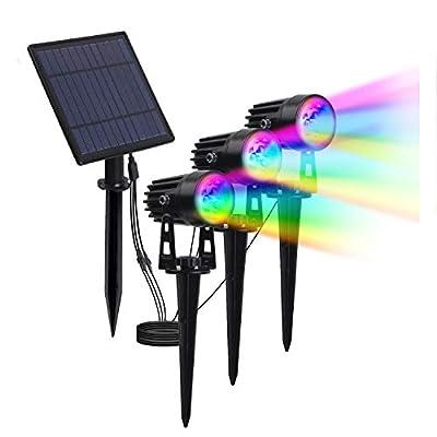 T-SUN Solar Spotlights 2W LED Landscape Lght