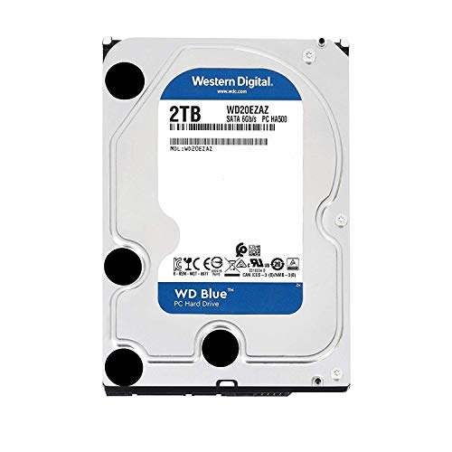 Western Digital WD Blue interne Festplatte 3,5' (8,9 cm) Desktop HDD SATA 6 Gb/s, Kapazität:6.000GB (6TB)