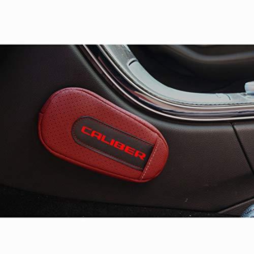 MNBX Almohadilla para la Rodilla Cojín para Las piernas Almohadilla para el reposabrazos, para Dodge Caliber Cojín Multifuncional de Cuero, Accesorios Interiores automotrices