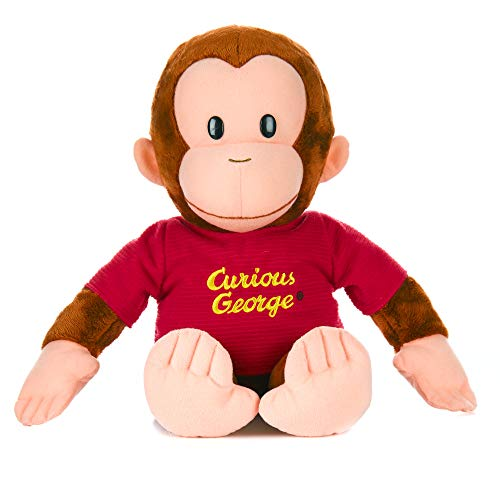 KIDS PREFERRED Curious George Monkey Plush  Classic George 16quot Stuffed Animal