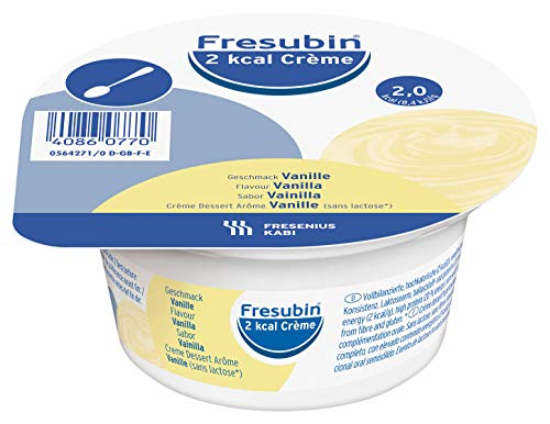 Fresubin 2 Kcal Creme Vanille im Becher, 4X125 g