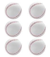 フォーム野球ソフトボール特大フォームトレーニングボール6個パック直径-9CMホワイト