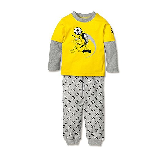 BVB 09 Borussia Dortmund Schlafanzug für Kleinkinder lang mit Emma Gr. 74 Kinderschlafanzug 15262000