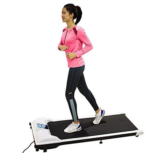 NBRTT Elektro-Laufband, Laufband Intelligent Silent Energy Saving, Flexible Track, Praktische Roller Geeignet für Heim-und Büro-Übung Indoor-Maschine