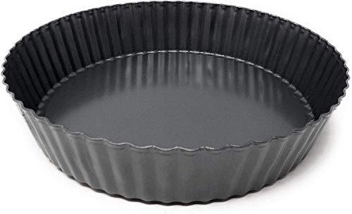 Cake - Moule à Tarte/Moule à Quiche - Fond Amovible - Revêtement Antiadhésif - Ø 32 cm