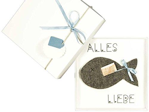 Geldgeschenk Verpackung, Geschenk zur Taufe Konfirmation Kommunion: blau Junge, Geld schenken